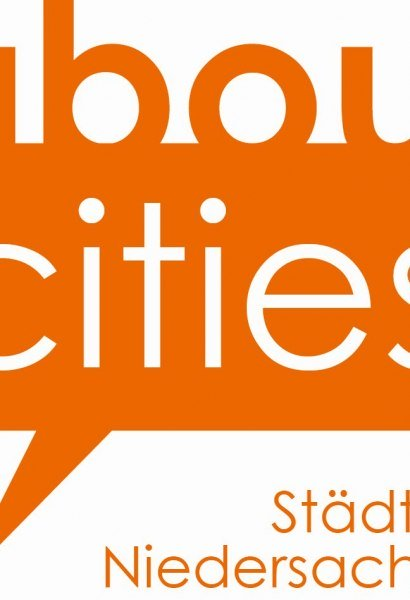 Wortbildmarke about cities, © about cities